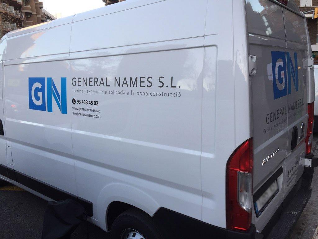 furgoneta vinilada